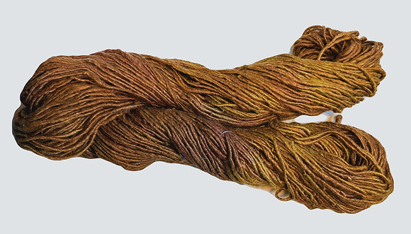 Toasty Brown Silk Yarn