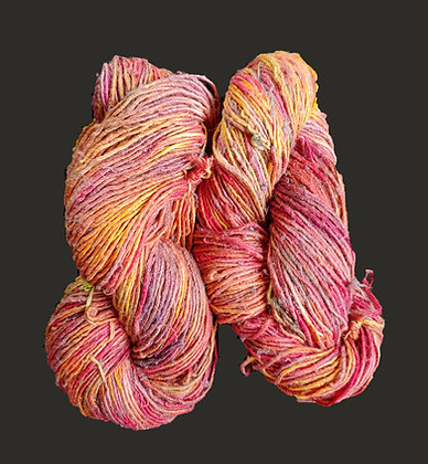 Truly Harlequin Silk Yarn