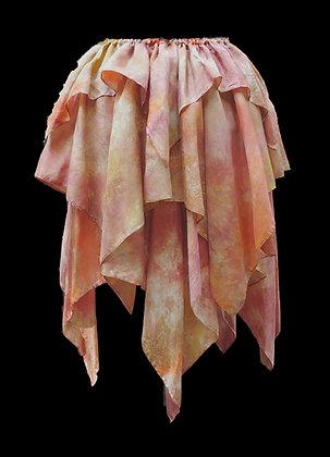Autumn Brown 3 Layer Skirt