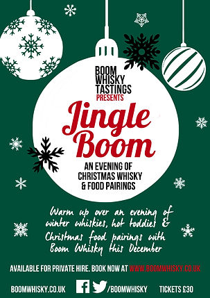 Christmas Whisky Tastings for Hire in Manchester and throughout the UK
