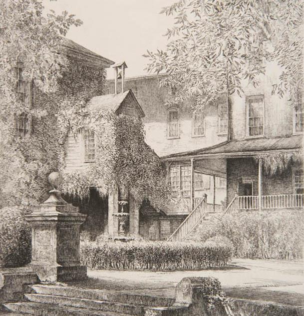The Inner Court, Salem Academy, Winston