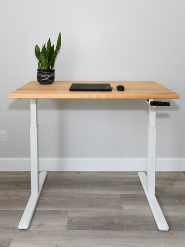 Maple office desk_