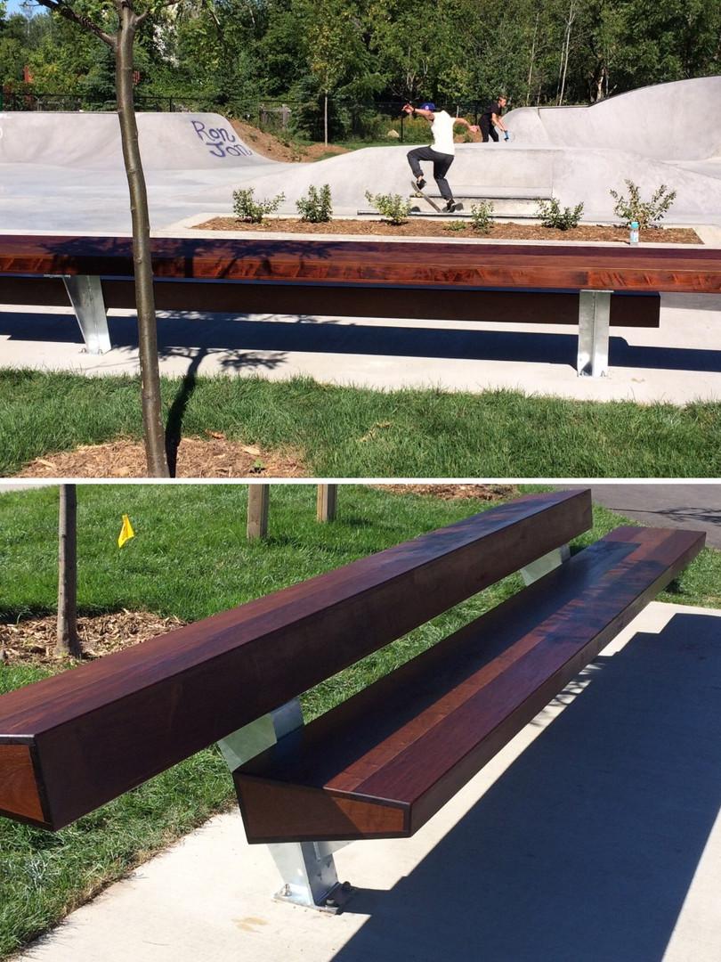 IPE park bench_