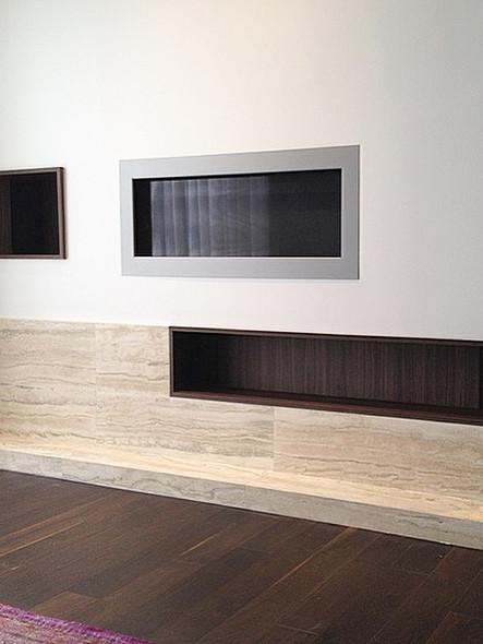 Wall cavity cabinets