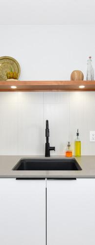 White Harmony acrylic panel kitchen_