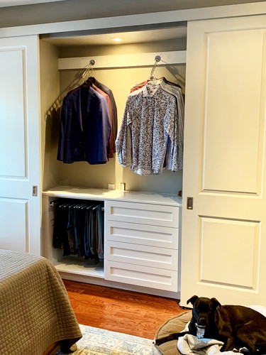 Customized closet space_