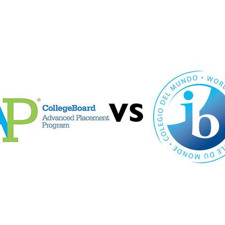 進階先修課程(AP)與國際文憑(IB)之分別