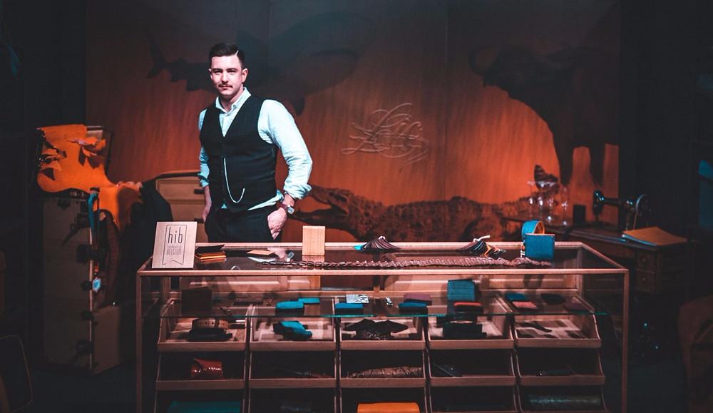 Xavier Thomas at Gentleman Fair