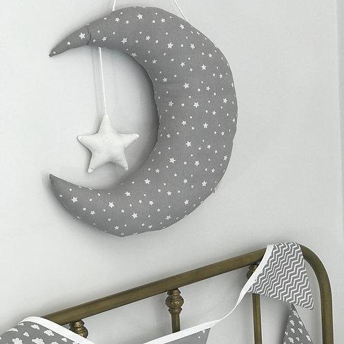Hanging Moon & Star