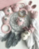 maylilly, geheckelt, baby, accessoires, traumfänger, handmade, eule, babydecke, spucktuch