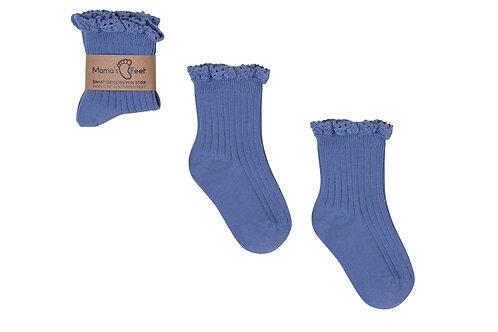 Blue Socks Mono Baby