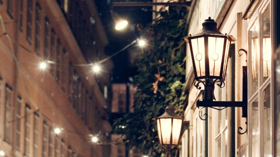 Dreaming of a white Biedermeier Christmas