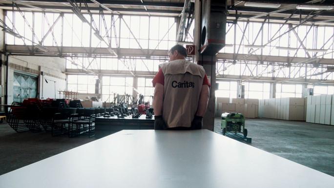 Caritas größte Sachspende