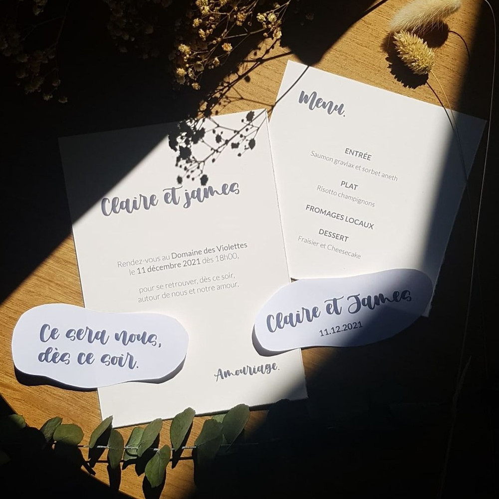 papeterie-amouriage-minimaliste-mariage