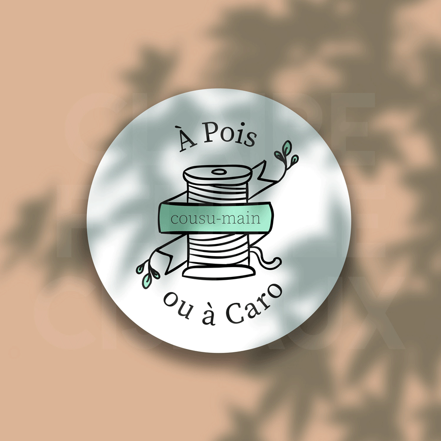 Logo - couturière