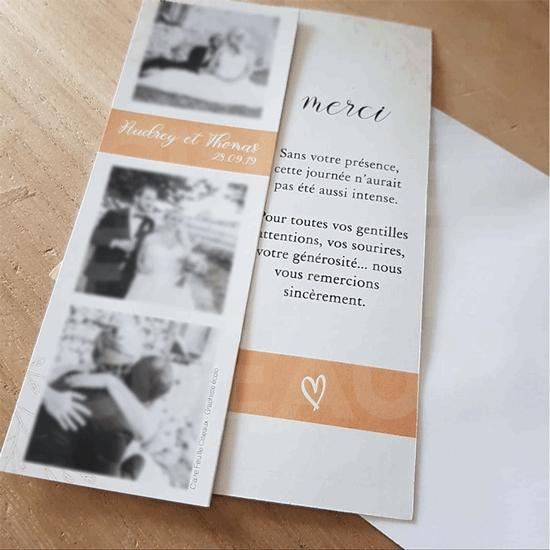 #PAPETERIE → Carte de remerciements