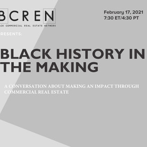 BCREN Presents: Black History in the Making
