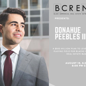 BCREN Presents: Donahue Peebles III