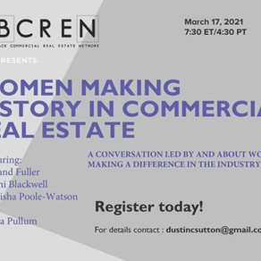 BCREN Presents: WOMEN MAKING HISTORY IN COMMERCIAL REAL ESTATE