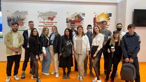 Студенты 2 курса ИМТК на выставке TransRussia 2021