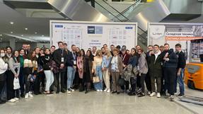 Студенты ИМТК посетили  выставку «CeMAT RUSSIA 2021»