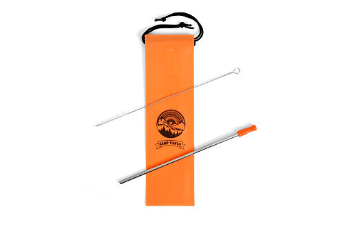 Camp Pongo Stainless Steel Reusable Straw