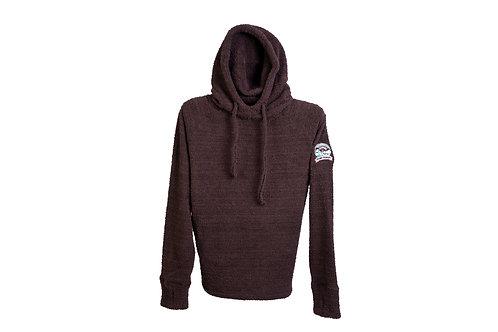 Camp Pongo Ladies Teddy Hooded Sweatshirt