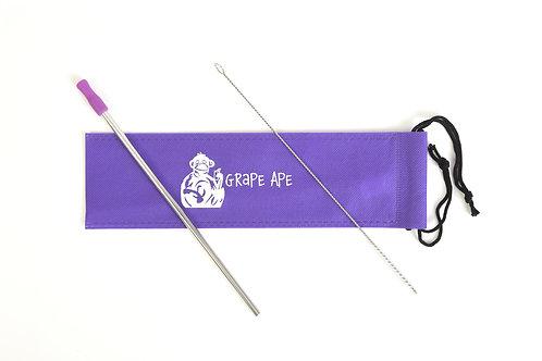 Grape Ape Stainless Steel Straw