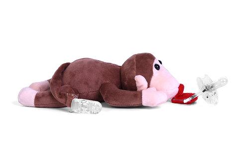 Pongo Pet Stuffed Monkey Pacifier