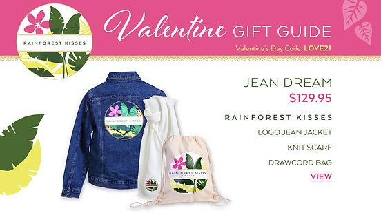 Valentine's Day Rainforest Kisses Jean Dream