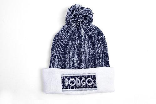 Pongo Knit Winter Pom Pom Hat