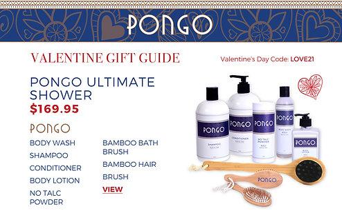 Valentine's Day Pongo Ultimate Shower