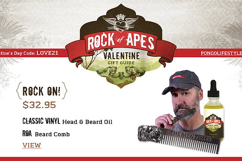 Valentine's Day Rock of Apes Rock On!