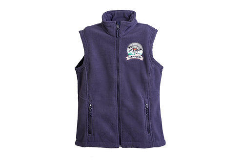 Camp Pongo Women's Sleeveless Fleece Vest
