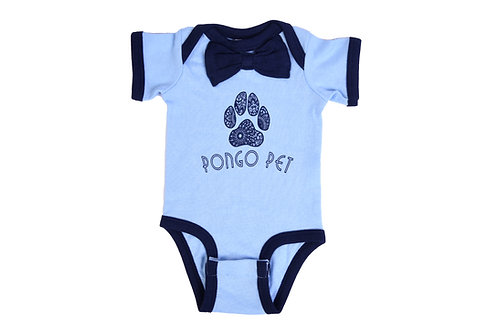 Pongo Pet Pawz Bow Tie Onsie