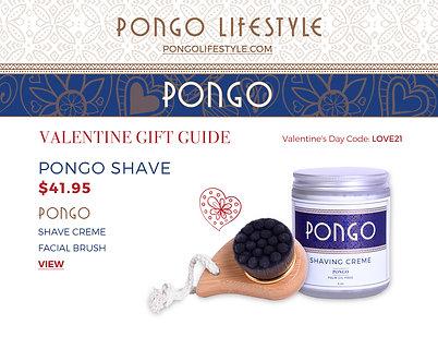 Valentine's Day Pongo Shave