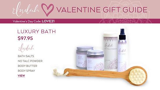 Valentine's Day Indah Luxury Bath