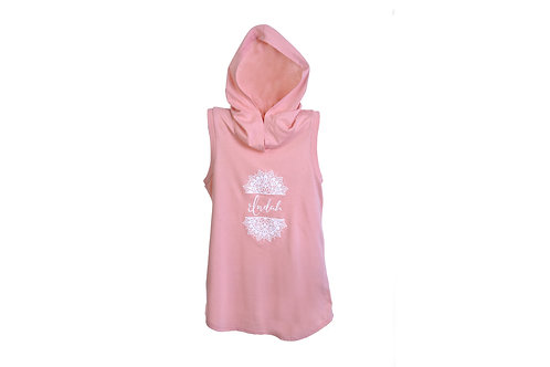 Indah Sleeveless Hoodie T-shirt