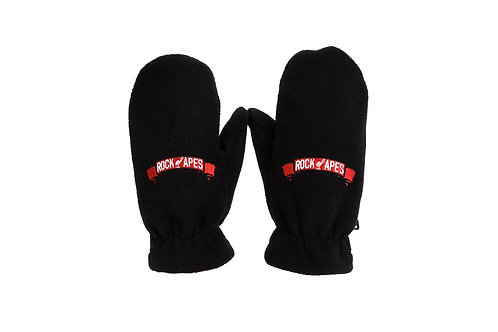 Rock of Apes Polar Fleece Gloves