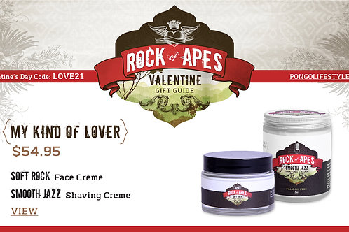 Valentine's Day Rock of Apes My Kind of Lover