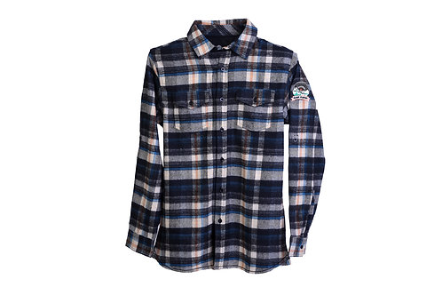 Camp Pongo Yarn Dyed Women's Flannel Shirt