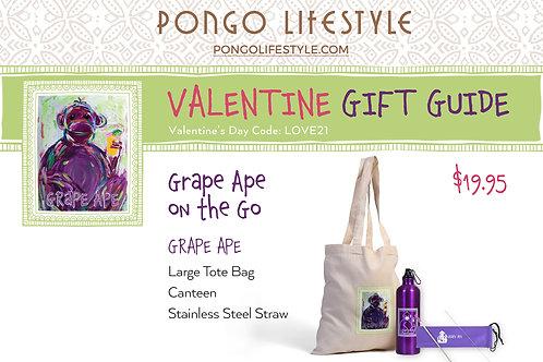 Valentine's Day Grape Ape On The Go
