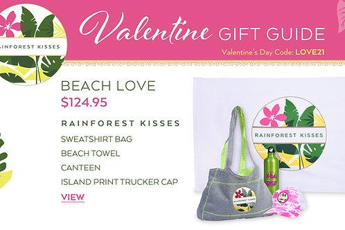 Valentine's Day Rainforest Kisses Beach Love