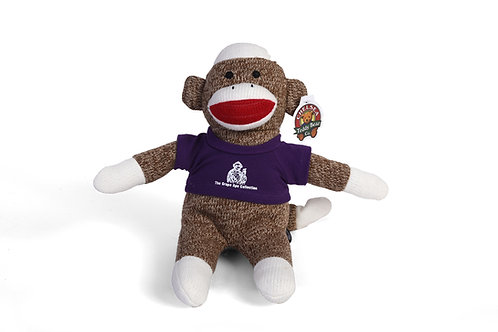 Grape Ape Sock Monkey