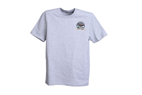 Camp Pongo Embroidered Men's Recycled T-shirt