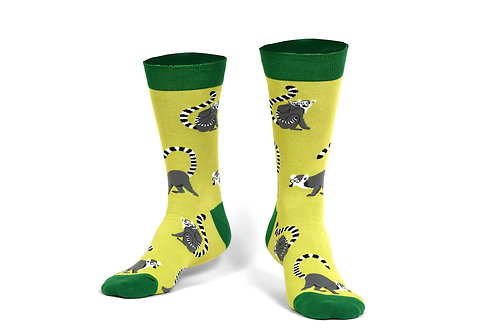 Pongo Lemur Socks
