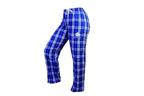 Pongo Pet Paws Women's Plaid Pajama Pants