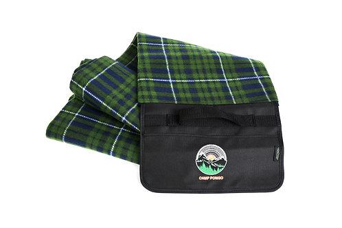 Camp Pongo Plaid Picnic Blanket