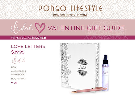 Valentine's Day Indah Love Letters