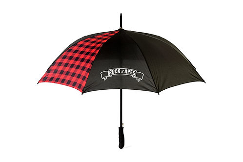 Rock of Apes Plaid Umbrella